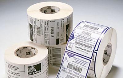 Etichette con codice a barre per ricevimento delle merci, immagazzinamento,gestione dello spazio, controllo merce in entrata uscita.
