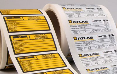 Etichette durevoli Serit Etichette: colore resistente ai graffi e ai raggi UV, supporti altamente performanti e collanti ad alte prestazioni.