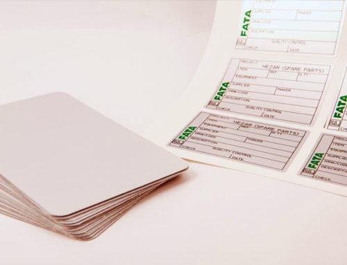 Etichette prefustellate in fogli A4 – la scelta del supporto