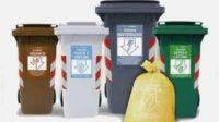 etichette adesive per raccolta rifiuti