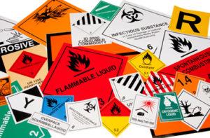 etichette merci pericolose